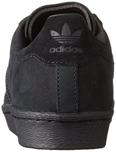 Adidas Sneaker Women SUPERSTAR 80S METAL TOE W S76710 Schwarz, Schuhgröße:37 1/3 -