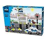 Plus Plus 52235 Mini Basic 760 – Polizei-kreatives Konstruktionsspiel mit zahlreichen Steckbausteinen