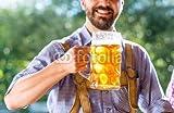 druck-shop24 Wunschmotiv: Man in traditional bavarian clothes holding mug of beer #121157378 - Bild als Klebe-Folie - 3: