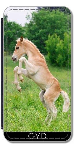 51QPvXBVxoL UK BEST BUY #1Flip Cover Case for Samsung Galaxy S8 Plus (SM G955)   Haflinger horse foal rearing by Katho Menden price Reviews uk