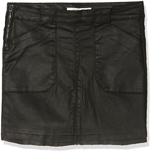NAME IT Mädchen Rock NITBLOSA TWI Skirt F NMT, Grau (Black), 158