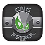 Stylish fuel lids ensure your car always gets the right fuel. Size: 5.9 inches (Width) X 5.5 inches (Length) Application Instructions: 1) Clean Surface. 2) Peel off the backing liner. 3) Press firmly in place. Note: No Returns are allowed for this or...