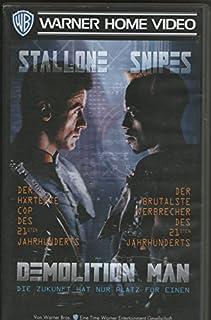 DEMOLITION MAN [Videokassette] Sylvester Stallone; Wesley Snipes; Sandra Bullock.