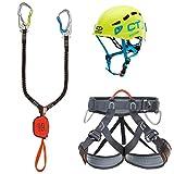 Climbing Technology Kit Ferrata Premium Eclipse - Hook It Slider - Explorer tg.M-L Kit Ferrata, Multicolore Assortiti, M-L