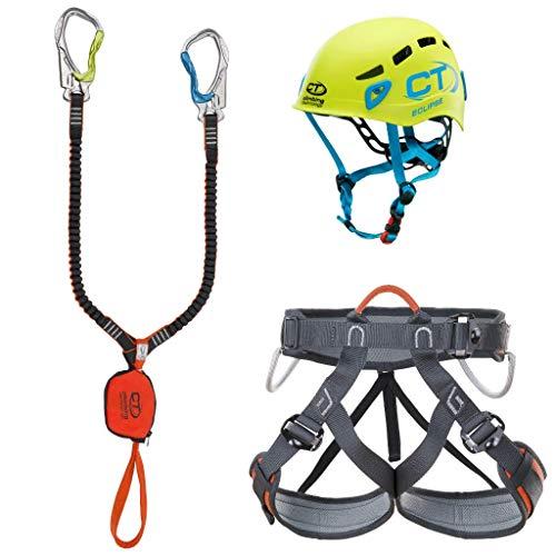Climbing Technology Kit FERRATA Premium Eclipse Set Ferrata, Multicolore, Taglia Unica