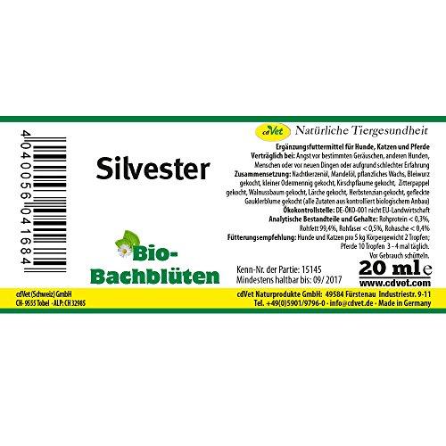 cdVet Naturprodukte Bio-Bachblüten Silvester 20ml