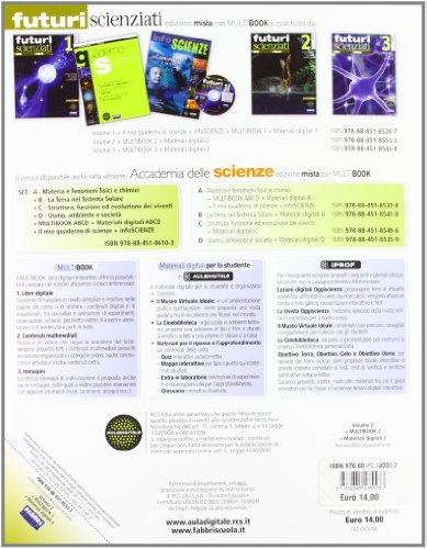 Futuri scienziati. Per la Scuola media. Con DVD-ROM. Con espansione online: 2