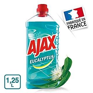 Ajax Floor Cleaner Gel, Eucalyptus 1.25Litre–Pack of 4