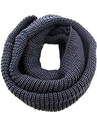 TININNA 1PC Automne Hiver Hommes et Femmes Collar Echarpe Laine Ring O Tube Foulard Châle Head Gear Châle Neck Wraps