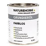 Grundieröl farblos 750 ml – der pflanzliche Holzschutz