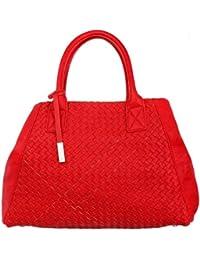Comma Femmes Cabas Tote bag rouge 83-302-94-5732-RE