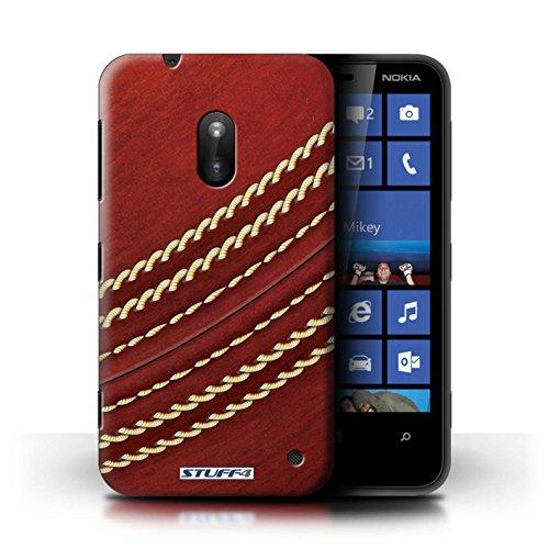 Kobalt® Imprimé Etui / Coque pour Nokia Lumia 620 / Basket-ball conception / Série Balle Sportif Cricket
