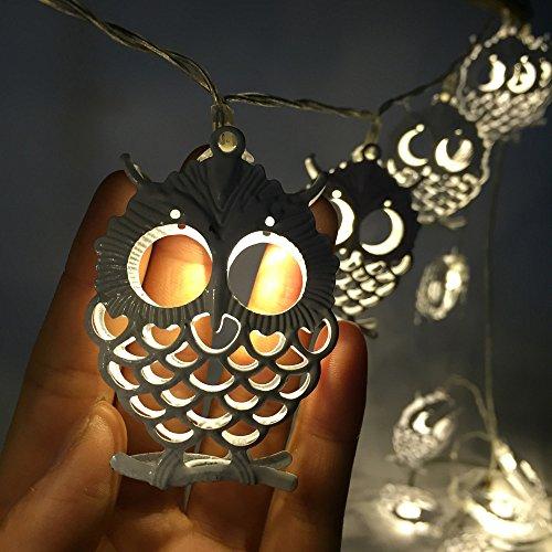 10 LED Halloween Weihnachten Hochzeit Party Dekor Outdoor Fairy String Licht Lampe kingko Haus oder Garten Dekorationen (Hof Dekor Halloween)