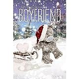 Me to You Tatty Teddy 3D Hologramm–schöne Weihnachtskarte für Freund.