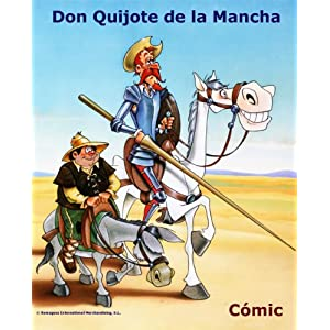 DON QUIJOTE DE LA MANCHA - Cómic Book