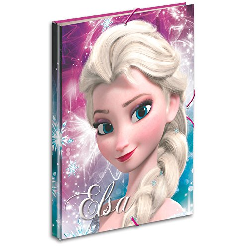 Disney Frozen- Carpeta A4 con Gomas (Montichelvo 53783)