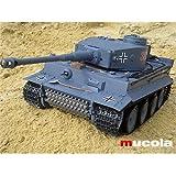 RC Panzer German Tiger 1:16 Kampfpanzer Heng Long 3818 Schuss Ferngesteuert RTF