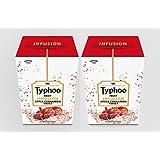 Typhoo Fruit Infusion Apple Cinnamon Twist 25 Tea Back Pack Of 2