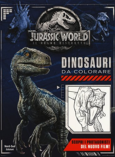Jurassic world. Dinosauri da colorare. Ediz. a