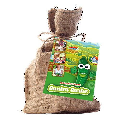 Pflanz-Set Gunter Gurke Gemüse Garten Samen Geschenkidee von notrash2003®