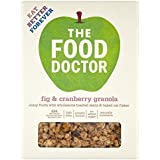 The Food Doctor Fig and Cranberry Granola, 425g