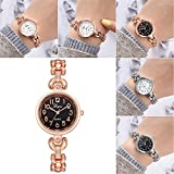 LCLrute Luxus Luxus Mode Damenuhr Legierung Analog Quarz Armbanduhr Armband