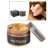 120g Color Cera para el cabello, Cera de Pelo desechable para colorear Mud Peinado(3)