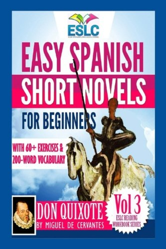 Portada del libro Easy Spanish Short Novels for Beginners With 60+ Exercises & 200-Word Vocabulary: