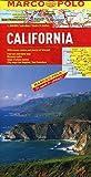 MARCO POLO Kontinentalkarte Kalifornien 1:800.000 (MARCO POLO Länderkarten) - Polo Marco