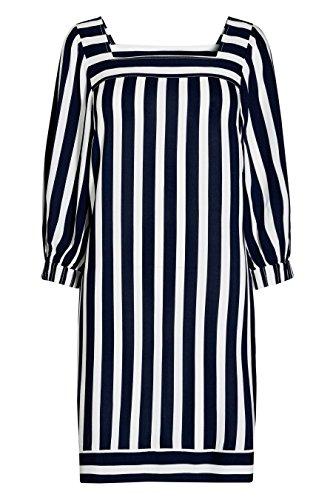 next Robe rayée Standard Femme Bleu Marine/Blanc