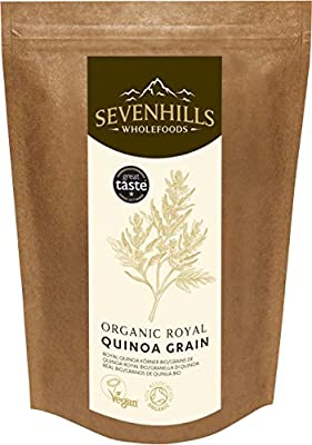 Organic Royal Quinoa Grain, Soil Association certified organic by Sevenhills Wholefoods