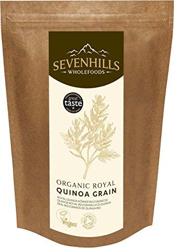 Sevenhills Wholefoods Royal Quinoa Körner Bio 1kg (Pro Top-korn)