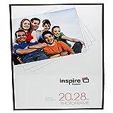 Inspirieren für Business Passepartout Schwarz 20x 28(50x 70cm) Hinten Laden Poster Foto, Bilderrahmen mit 10mm Breitem Profil und Qualität Plexiglas Sicherheit Nicht-Glas vor blr2028bkp