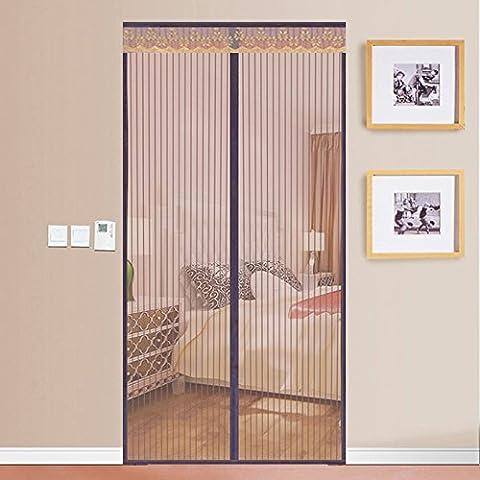 rugai-ue Sommer Magic Stick Mosquito Vorhang magnetisch Weiche Bildschirm Verschlüsselung Dämpfer Insektenschutz Haushalt Schlafzimmer