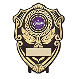 Best Leader Trophies - Plastic Shield Trophy with Scouting Logo - Large Review