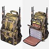 Back Pack Ruckack Camouflage mit 4 Kunststoffboxen
