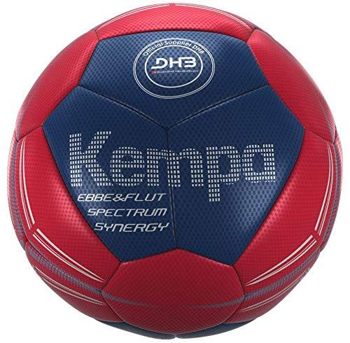 Kempa Spectrum Synergy EBBE und Flut Bälle, Lighthouse rot/Ocean blau, 1 -