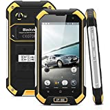 "Blackview BV6000 - 32GB Smartphone libre Impermeable IP68 (Android 6, 4G Lte, Pantalla 4.7"", Cámara 13.0 Mp, OctaCore 2.0GHz, NFC, Dual SIM, 3GB RAM, Gorilla Glass 3), Negro y Amarillo"