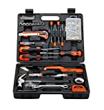 #9: (CERTIFIED REFURBISHED) BLACK+DECKER BMT126C Hand Tool Kit (126-Pieces), Orange and Black