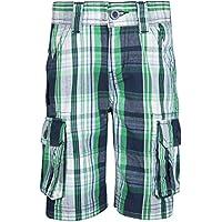 Mountain Warehouse Check Kids Cargo Shorts