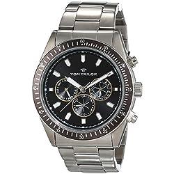 TOM TAILOR Herren-Armbanduhr Analog Quarz Edelstahl 5414202