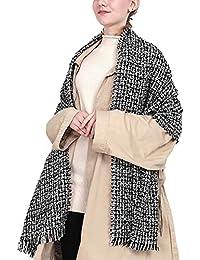 5c5cb6120f32 AnyuA Echarpe Epaisse Châles Femme Grosse Chaud Grand Foulard Classique
