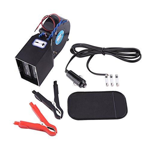 Duokon 12V 150W d/égivreur de Pare-Brise 2 en 1 Chauffage de Voiture Puissant Portable