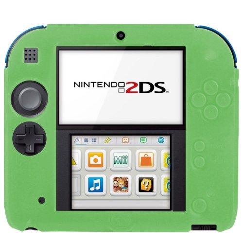 pure-color-ultra-thin-silicone-case-custodia-per-nintendo-2ds-green