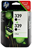 HP 339 2-pack Black Original...