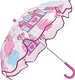 """Regenschirm Kinderschirm """"Prinzessin"""" Ø 67 cm - durchsichtige Oberfläche"""