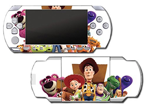 Toy Story 1 2 3 4 Buzz Lightyear Woody Jessie Barbie Ken Mr Potato Head Rex Video Game Vinyl Decal Skin Sticker Cover for Sony PSP Playstation Portable Original Fat 1000 Series System by Vinyl Skin Designs