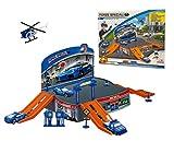 MEDIA WAVE store Playset gioco PARCHEGGIO FORZE SPECIALI 121836 con elicottero e automezzi