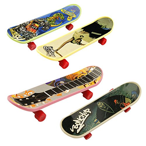 Sunshay Mini Finger Skateboard pour Tech Deck Stands d'alliage Classic Boys Toys Scrub Fingerboard