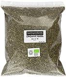 JustIngredients Essential Organic Basil Loose 250 g (Pack of 2)
